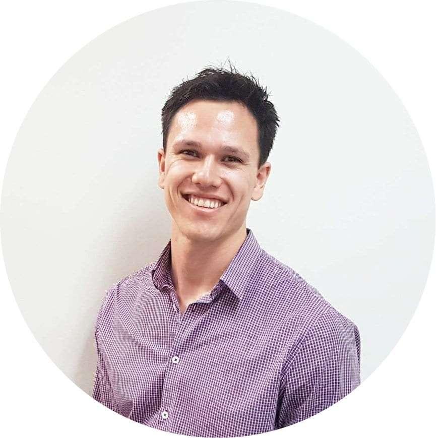 A portrait of Jared Reyes Vestibular Physiotherapist